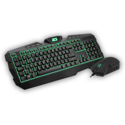 Kit teclado + raton BG Gaming Delta Force