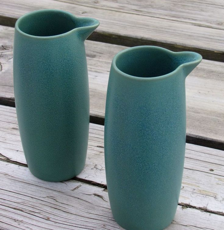 Arabia 24h milk jug (in teal green - now discontinued, the buggers), design by Heikki Orvola