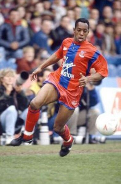 Ian Wright, Crystal Palace Football Club.