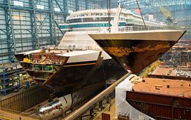 The new Disney Fantasy Cruise Ship, we board in September...Can't wait!!!!