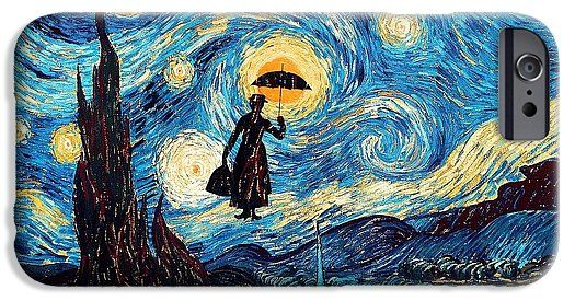 Mary Poppins Starry Night Oil Painting Phone Case Available for @pointsalestore #iphone7 #iphone7plus #iphone6  #iphone6plus #iphone6s #iphone6splus #iphone5 #iphone5s #iphone5c #iphone4 #iphone4s #galaxys7 #galaxys6 #galaxys5 #galaxys4 #tardis #doctorwho #painting #art #starrynight #autumn #twilight #phonebooth #phonebox #marypoppins