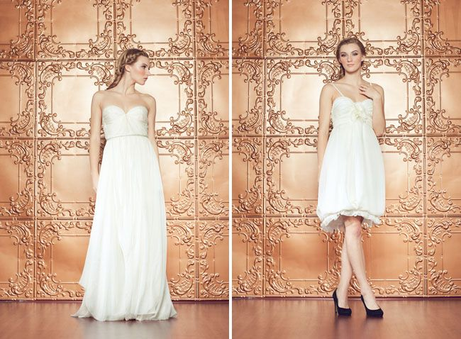 New Sarah Seven Wedding Dresses