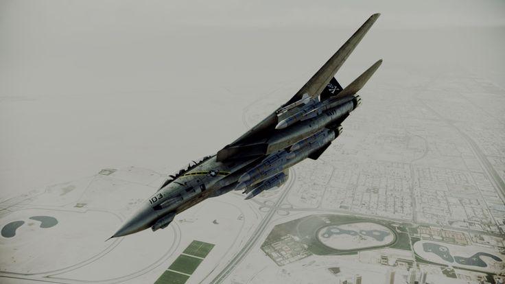 Beautiful ace combat assault horizon