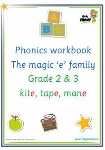 Phonics : Phonics: Magic 'e' sound workbook