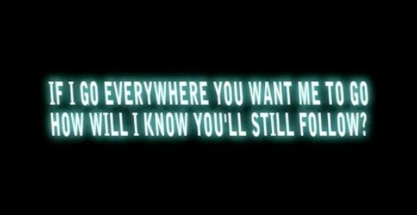 """Silversun Pickups - Panic Switch """"If I go everywhere you want me to go, how will I know you'll still follow?"""""""
