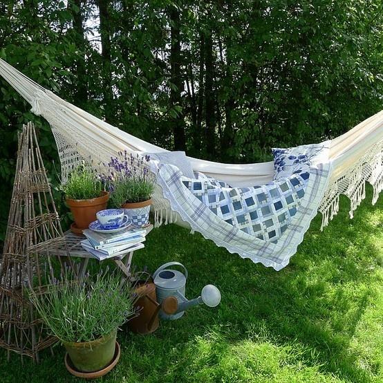 Garden Inspiration Hammock Giveaway: Inspiration For Imagination