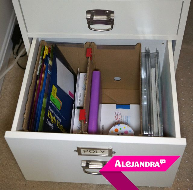 High Quality [VIDEO]: Desk Drawer Organization On A Budget (Part 3 Of 4 Dollar Store  Organizing)