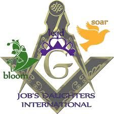 """Job's Daughters - I am a """"Jobie""""! This organization has changed my life for the better."""