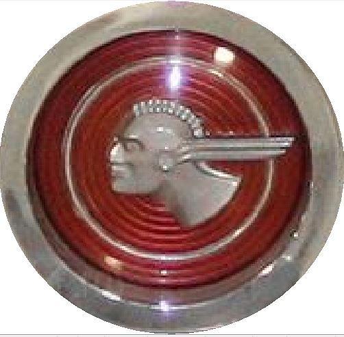 1951 Pontiac Chieftain Badge