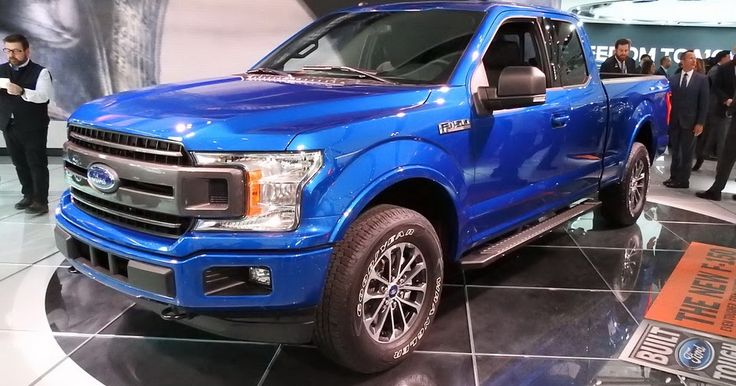 Revised 2018 Ford F-150 Shows Up Smarter, Safer And More Capable In Detroit #Detroit_Auto_Show #Ford