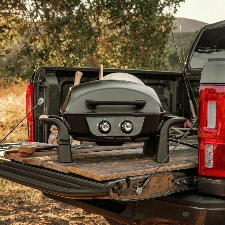 Nexgrill 2 burner aluminium table top gas grill barbecue