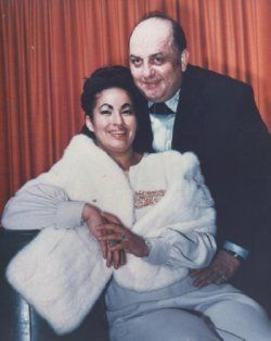 Buddy Lee  his wife Rita Cortez on their wedding day. Lee was previously married to Lillian Ellison (The Fabulous Moolah), but the marriage ended after Ellison in bed with Cortez. He  Moolah were training Cortez for the ring.