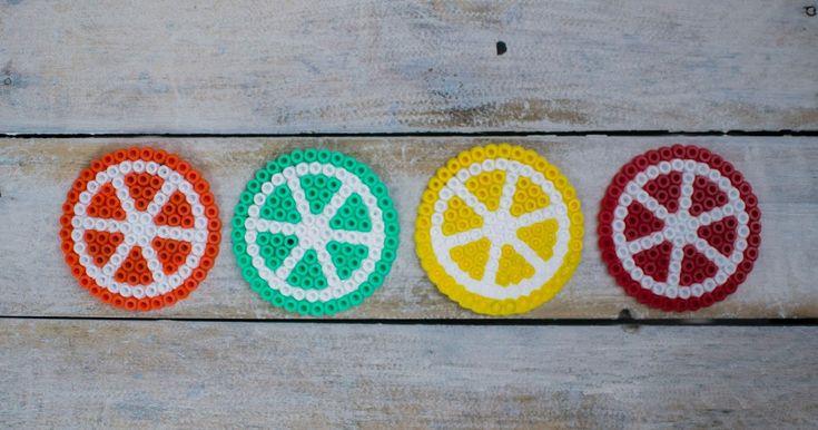 DIY Hama Beads Refrigerator magnets