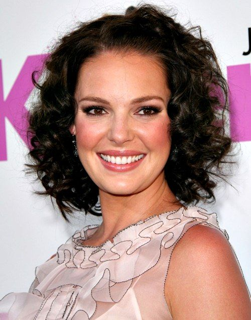 Best Short Curly Hairstyles For Oval Faces Images On Pinterest - Hairstyle for curly short hair round face