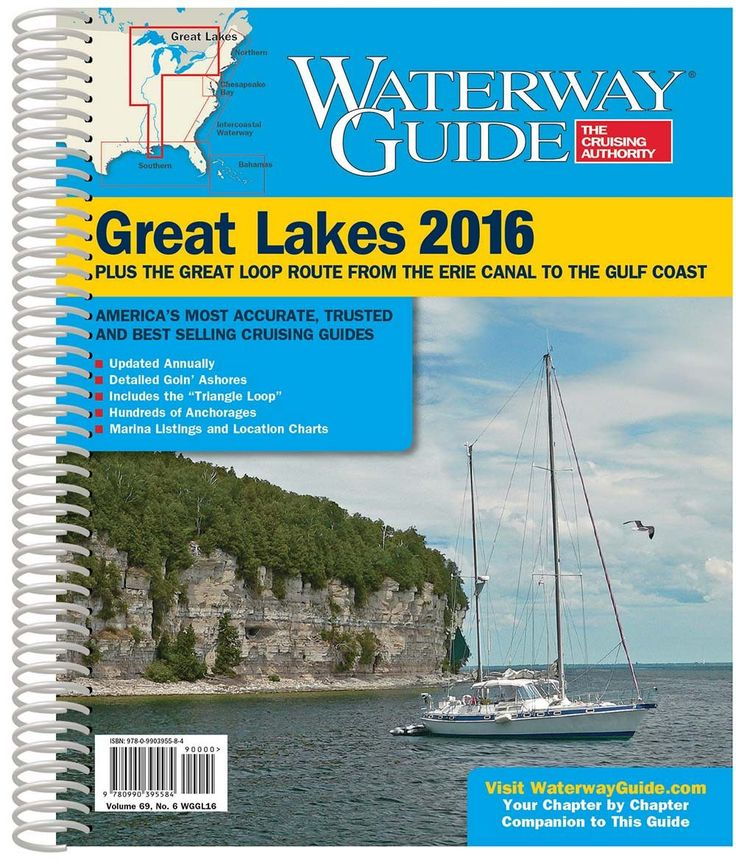 Dozier's Waterway Guide Great Lakes 2016