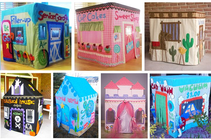 "Card Table Playhouses [Patterns & Tutorials. Google ""Card Table Playhouse"" for more ideas ;] I need my mother-in-law to teach me how to use a sewing machine..."