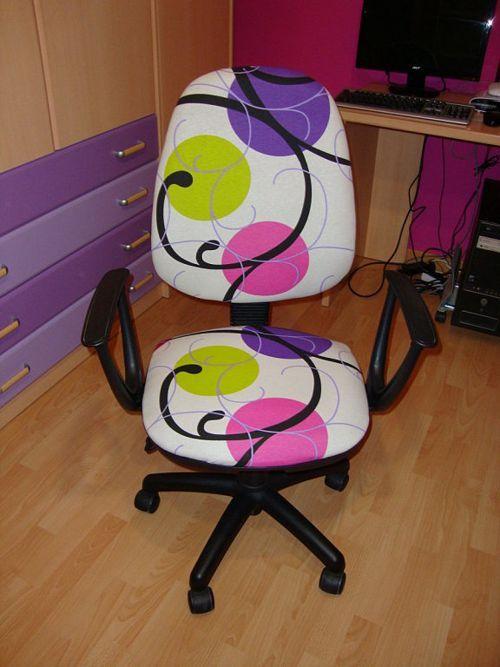 Descubre cómo tapizar paso a paso una silla giratoria de forma sencilla y económica para tu oficina, para tu espacio de estudio o para cualquier habitación.