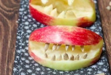 Frutta ad Halloween: 5 idee veloci e terrificanti per snack sani | I dolcetti di Paola