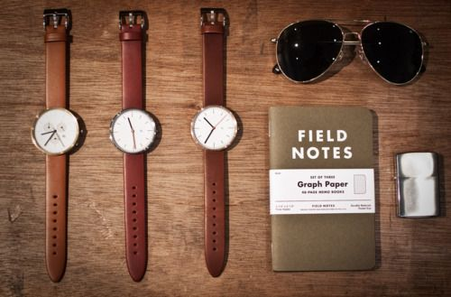 Field notes + a nice watch. Sold.