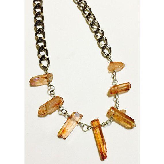 Santera | Tangerine Aura Necklace