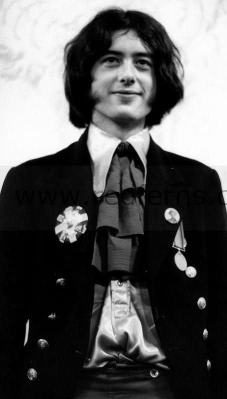 Jimmy Page: the Yardbirds