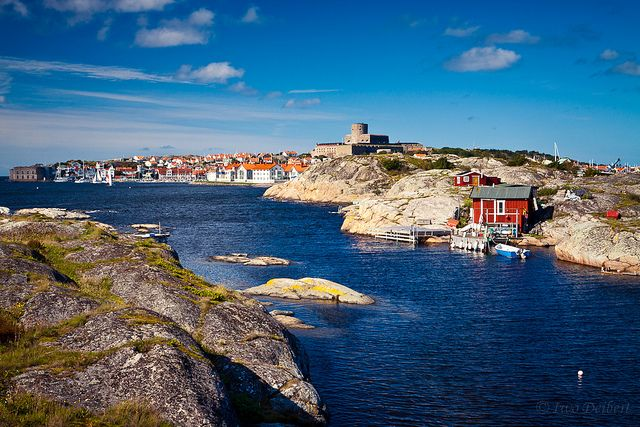 Marstrand, Bohuslän, Sweden. Small town near Gothenburg.
