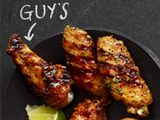 Guy Fieri's Tequila-Lime Wings from FoodNetwork.com...for when we don't want REALLY hot wings