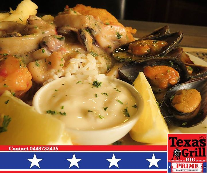 Our first Seafood Extravaganza for 2015. Texas Grill invites all our friends and fans to join us tonight for an evening of great seafood starting at 18h00. #steakhouse #cuisine #george