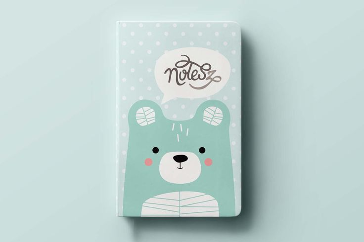 BEAR pocket notebook, notes(z) #stationery #baby #kidsroom #bear #illustration #design #notebook #cute