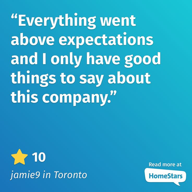 These are the types of moving reviews that keep us going. This is what it means to be the best moving company in Toronto