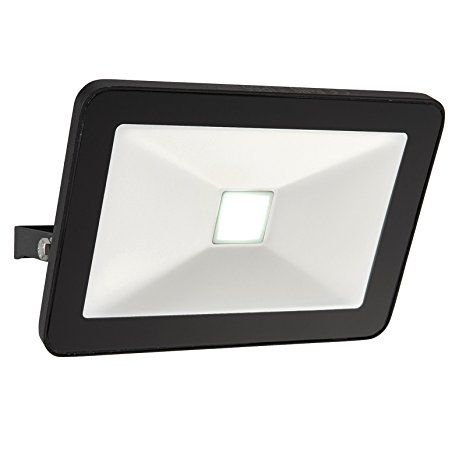 Saxby Sabre 30W Black Die Cast Aluminium Slimline Commercial Domestic Outdoor Garden IP65 LED Security Floodlight