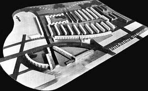 Hans Sharoun, Walter Gropius, Hugo Haring, Otto Bartning, Fred Forbat e Paul Rudolf Henning, Siedlung Siemensstadt, Berlim, 1929