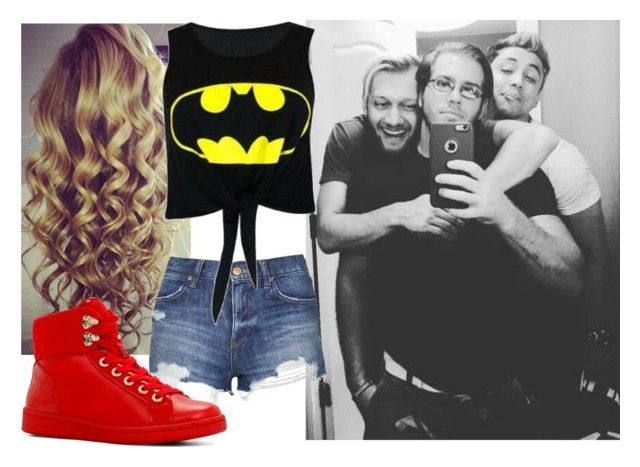 """""""Hanging out with Crazy Steve, Mandrews, and Manik!!!!!"""" by carmellahowyoudoin ❤ liked on Polyvore featuring Topshop, ALDO, women's clothing, women, female, woman, misses, juniors, tna and impactwrestling"""
