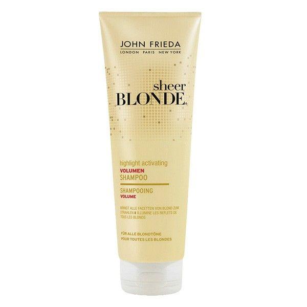 Avec sa formule au tournesol et au thé blanc, ce shampooing donne du volume à vos cheveux tout en éliminant les résidus qui obscurcissent la chevelure. Ce shampooing illumine tous les reflets blonds tout en nourrissant la fibre. Vos cheveux ternes et fins retrouveront volume et lumière. #santediscount #blonde #johnfrieda #hair #cheveux #hygiene