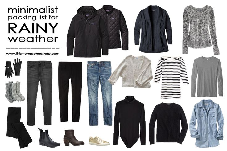 Mom Style {Packing List for Cold Rainy Seattle Portland PNW Weather}