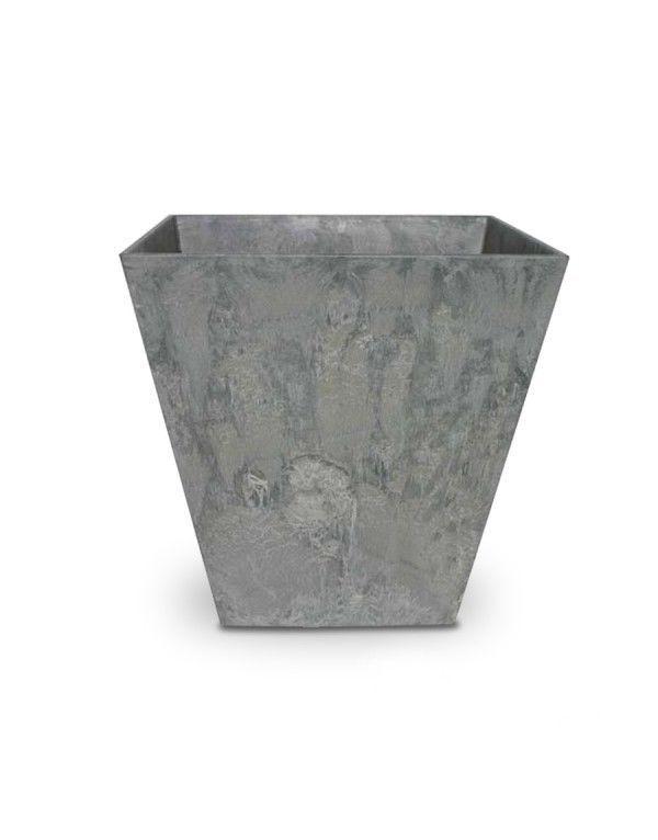 Pflanzkübel ELLA, 40 cm hoch, grau - ARTSTONE