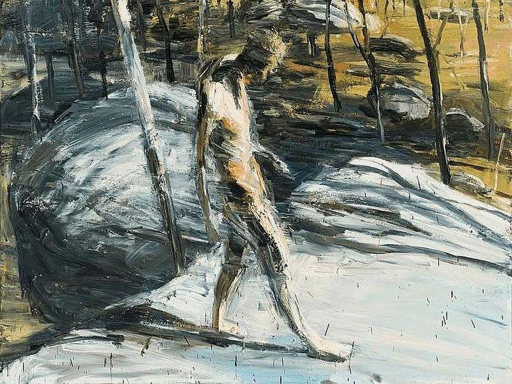 Euan Macleod FIGURE IN MOONBI LANDSCAPE 1991