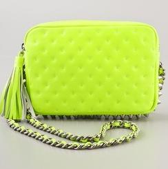 Rebecca Minkoff Flirty Bag in Neon Yellow