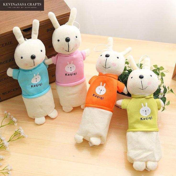 Adorable Kaqiqi Rabbits High School Korean Pencil Case for Girls  #Adorable #Kaqiqi #Rabbits #HighSchool #Korean #Pencil Case#Girls