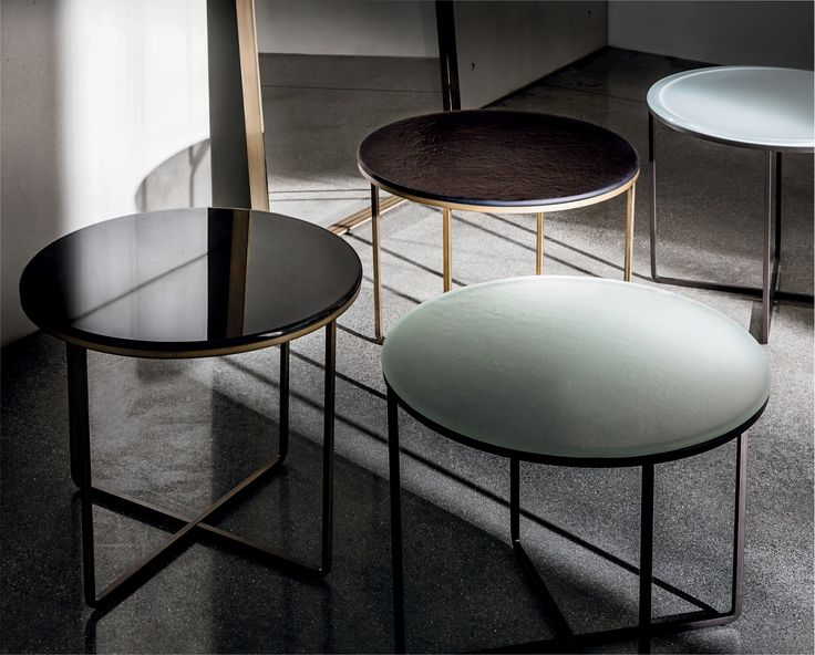 MATERIA top of Piktor coffee table: an added value for your #interiors #glassdesign #Sovetdesign #sovet