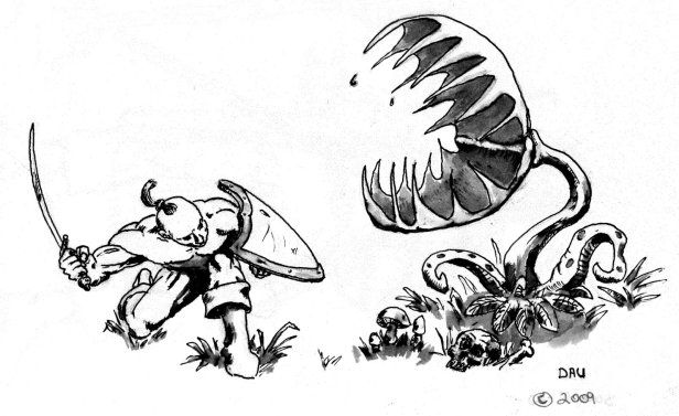 venus fly trap cartoon