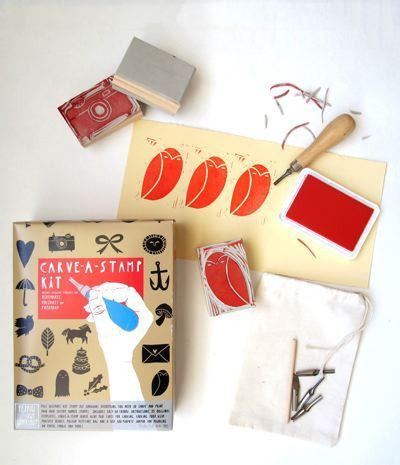 Yellow Owl Workshop Carve A Stamp Kit
