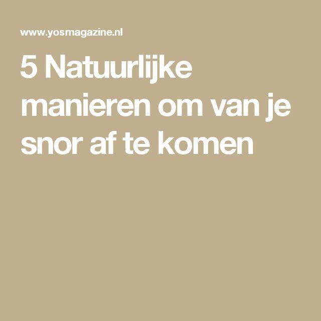 5 Natuurlijke manieren om van je snor af te komen