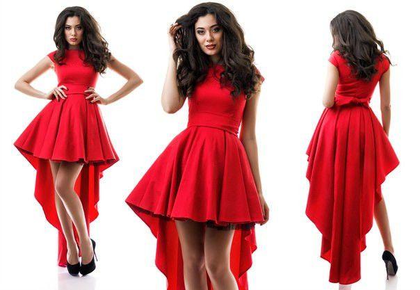 Платье асимметричное - Интернет-магазин «Вивант» в Одессе