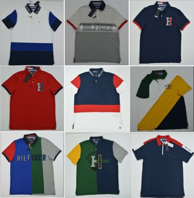 NWT Men/'s Tommy Hilfiger Short-Sleeve Tee Shirt  M L XL T
