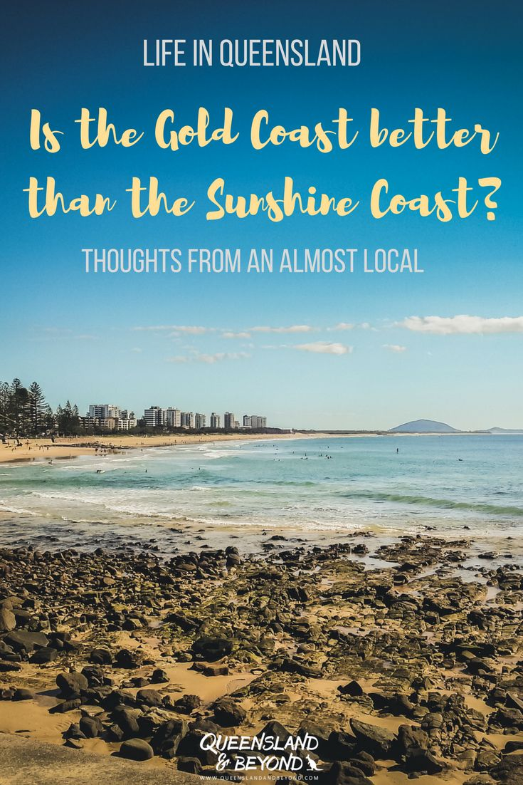 Australia's Gold Coast is no doubt a tourist magnet. But how does it stack up against the Sunshine Coast? Which one is better? Some random thoughts from an almost local. | 🌐 Queensland & Beyond | #australia #queensland #goldcoast #sunshinecoast