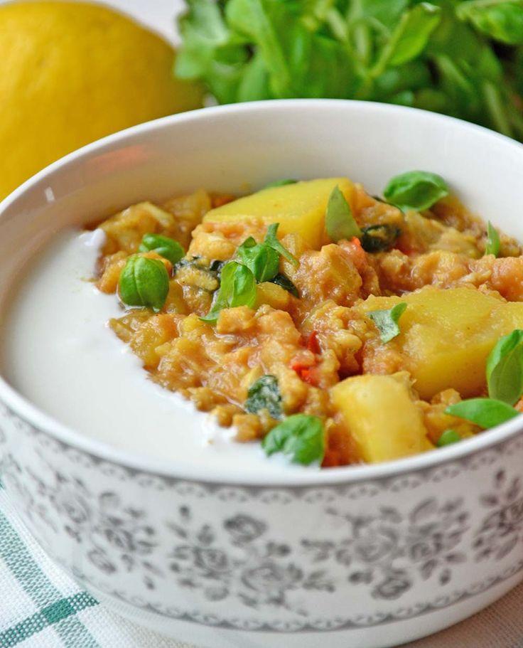 Spicy fish masala casserole