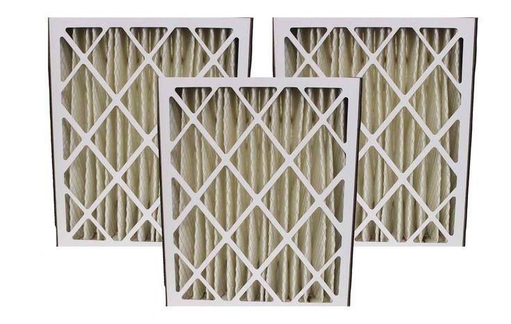 3 Lennox 20x25x5 MERV-8 Furnace HVAC Filters   Part # X6673
