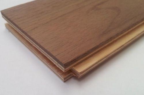 Wood Flooring, Engineered Flooring, Joblot, Walnut Natural Parquet Block, 320 x 80 x 18 mm, Natural, JOB/1461