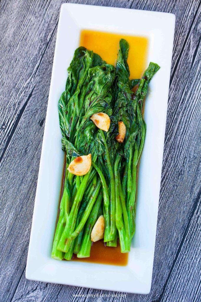 yu choy diet recipe